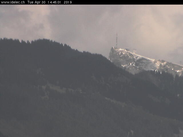 Webcam Grand Chamossaire (Villars - Gryon)